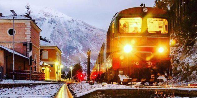 I mercatini di Natale in treno sulla Transiberiana d'Italia
